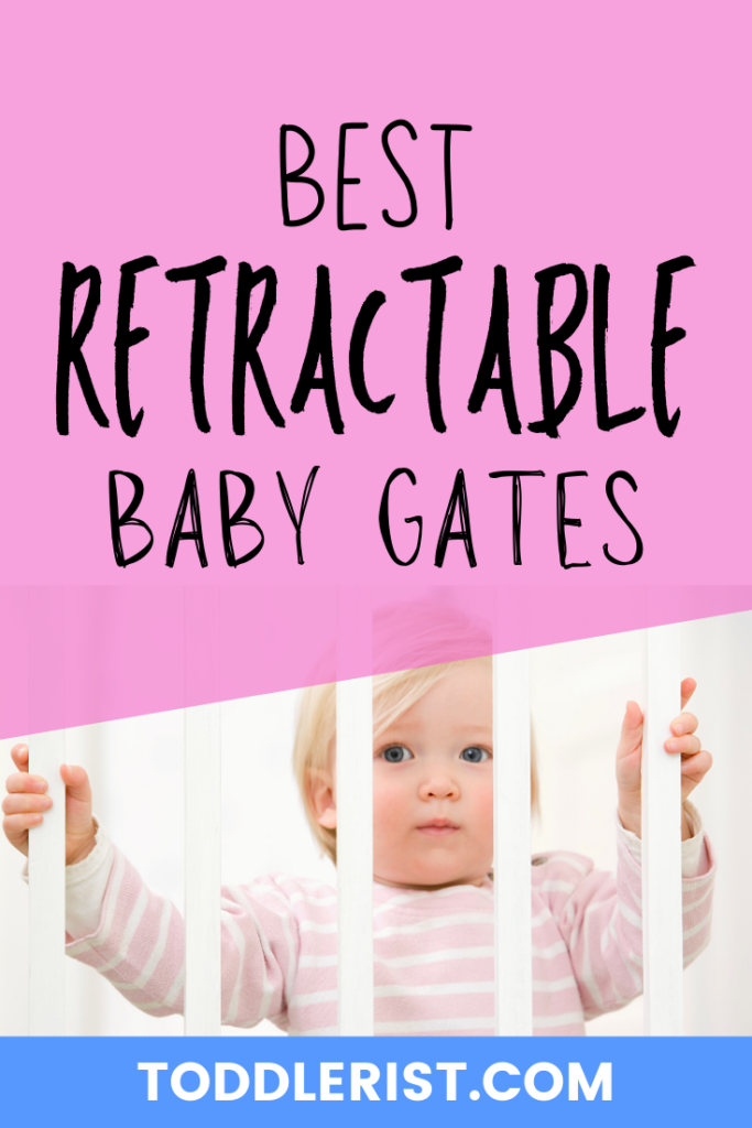 best retractable baby gates pin