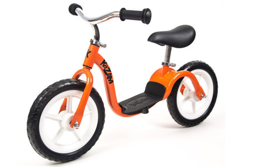 kazam balance bike orange